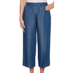 Ruby Road Favorites Petite Solid Tencel Pull On Pants
