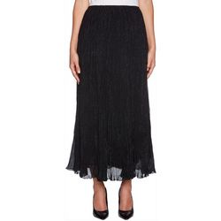 Ruby Road Favorites Petite Solid Crinkle Maxi Skirt