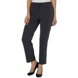 Ruby Road Favorites Petite Straight Leg Twill Pants