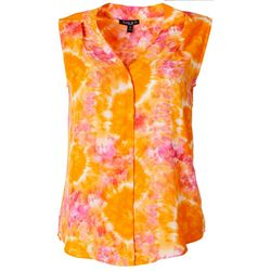 Sami & Jo Petite Tie Dye Sleeveless Top
