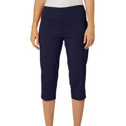 Zac & Rachel Petite Ring Hem Pull On Crop Pants