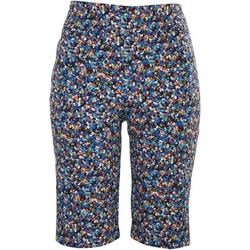 Petite Floral Print Skimmer Shorts