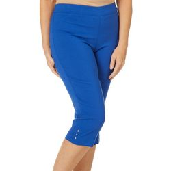 Counterparts Petite Pull-On Tummy Control Capris