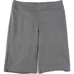 Counterparts Petite Geometric Print Skimmer Shorts
