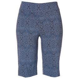 Counterparts Petite Paisley Super Stretch Capris