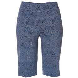 Petite Paisley Super Stretch Capris