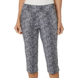 Counterparts Petite Animal Print Capris