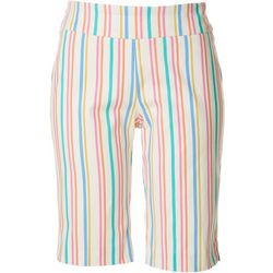 Counterparts Petite Striped Super Stretch Capris