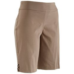 Counterparts Petite Brown Bermuda Shorts