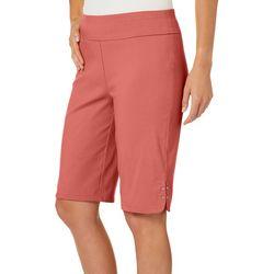 Counterparts Petite Embellished Hem Pull On Shorts