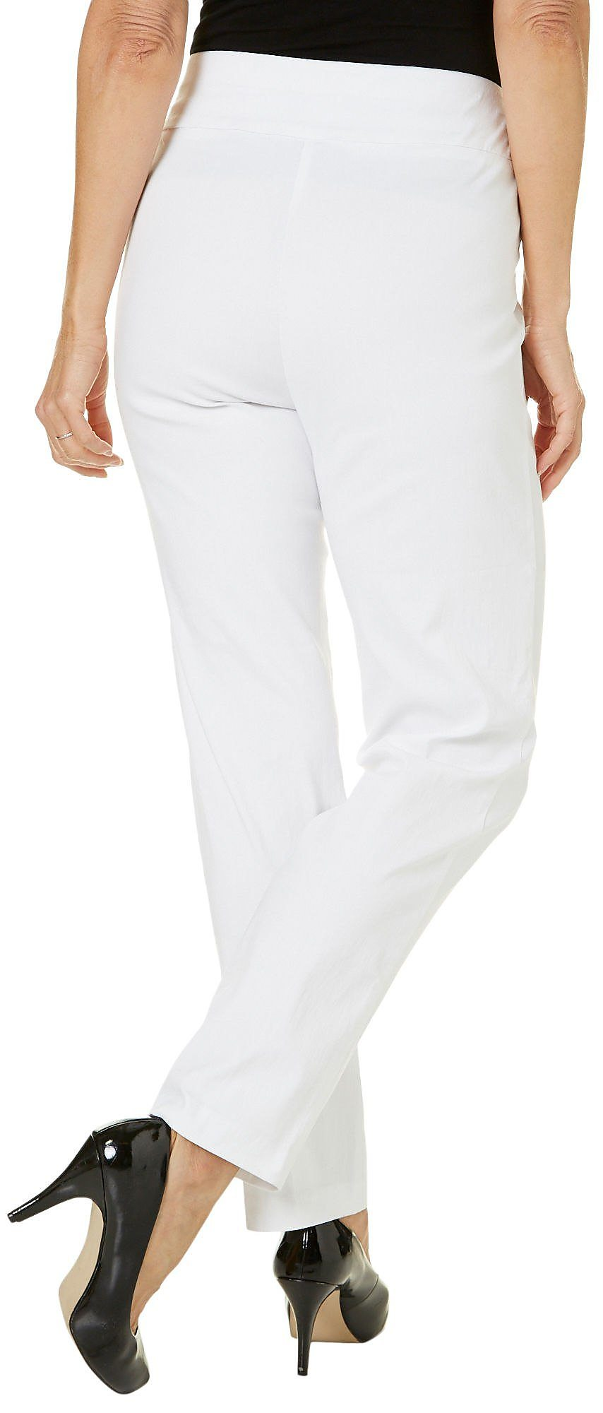 Alfred-Dunner-Petite-Allure-Solid-Pants thumbnail 14