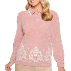 Alfred Dunner Petite Home For The Holidays Zip