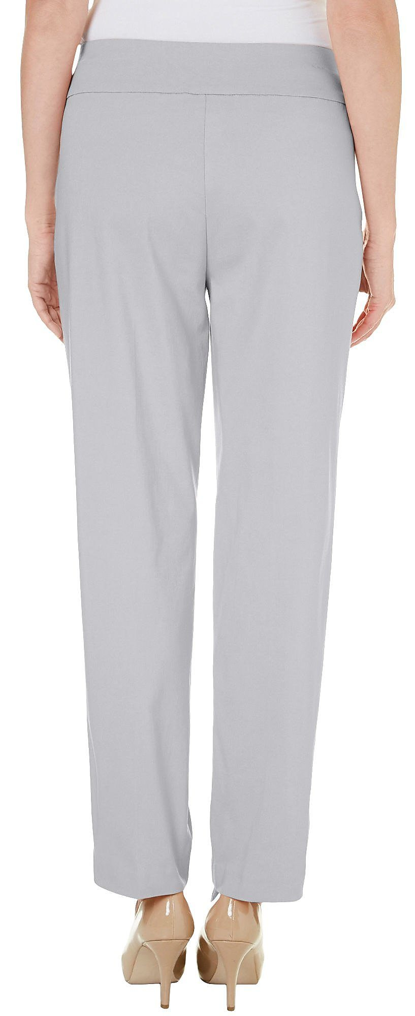 Alfred-Dunner-Petite-Allure-Solid-Pants thumbnail 8