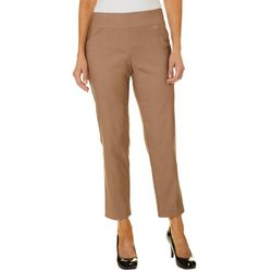Alfred Dunner Petite Allure Solid Pants