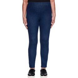 Alfred Dunner Petite Autumn Harvest Solid Pull On Pants