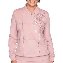 Alfred Dunner Petite All About Ease Bouquet Spliced