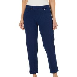 Cathy Daniels Womens Pull On Slim Fit Pants