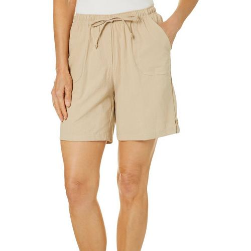 042f36e59f3 Cathy Daniels Womens Drawstring Pull On Shorts