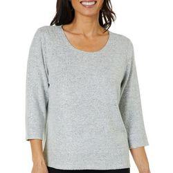 Cathy Daniels Womens Foil Dots Sweater