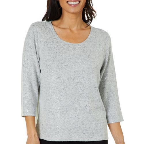 092669da88762b Cathy Daniels Womens Foil Dots Sweater | Bealls Florida