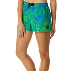 Loco Skailz Juniors Mahi Graphic Print Boardshorts