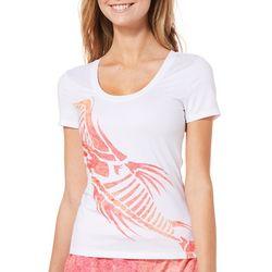Loco Skailz Juniors Wicked Ocean Bones Short Sleeve Top