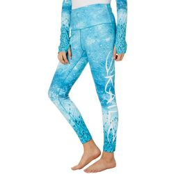 Loco Skailz Juniors Salmon Skin Print Leggings