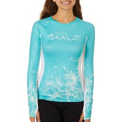Loco Skailz Juniors Splash Waves Long Sleeve Top