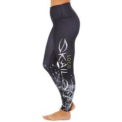 a756677f0534d Loco Skailz Juniors Splash Waves Logo Leggings
