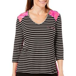 Leoma Lovegrove Petite Sugar Plum Fairy Striped Top