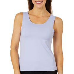Ruby Road Petite Solid Knit Sleeveless Top