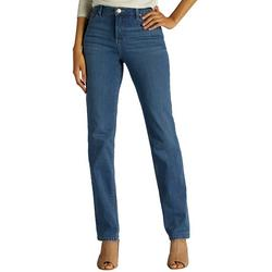 Petite Relaxed Straight Leg Slim Fit Jeans
