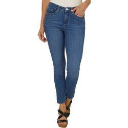 Petite Solid Sculpting Skinny Leg Jeans