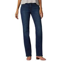 Lee Petite Flex Motion Faded Boot Cut Jeans