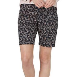Floral Regular Fit Chino Bermuda Shorts