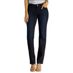 Lee Petite Flex Motion Straight Leg Jeans