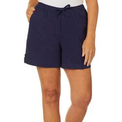 Cathy Daniels Petite Drawstring Pull On Bermuda Shorts