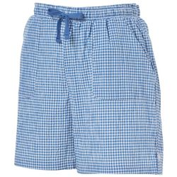 Cathy Daniels Womens Gingham Print Pull On Shorts