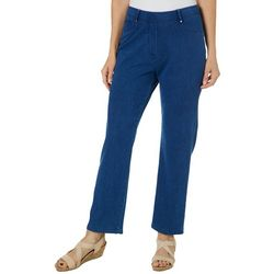 Cathy Daniels Petite Pull On Slim Fit Pants