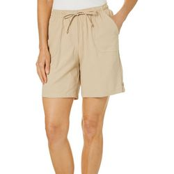 Cathy Daniels Petite Drawstring Pull On Shorts