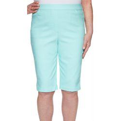Petite Spring Lake Solid Bermuda Shorts