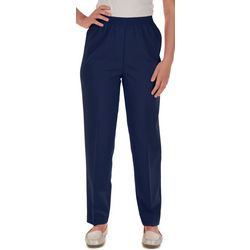 Petite Feather Touch Pull On Pants