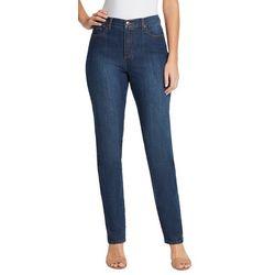 Gloria Vanderbilt Petite Amanda Supreme Stretch Short Jeans
