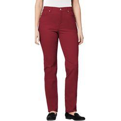 Gloria Vanderbilt Petite Amanda Tapered Leg Short Slim Jeans