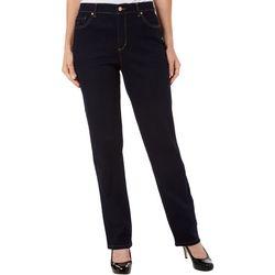 Petite Amanda Straight Leg Jeans