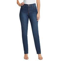 Petite Amanda Classic Length Denim Shorts