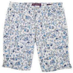 Gloria Vanderbilt Womens Printed Shorts