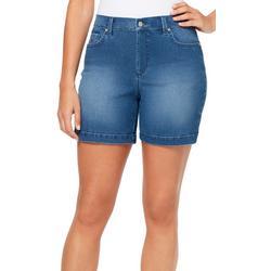 Petite Amanda Faded Shorts