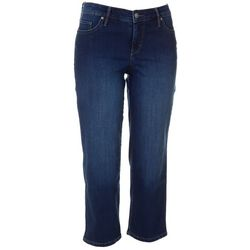 Gloria Vanderbilt Petite Modern Straight Leg Crop Jeans