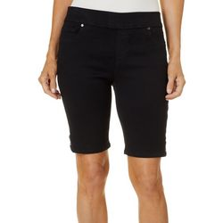 Gloria Vanderbilt Petite Avery Pull On Bermuda Shorts